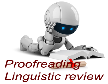 Proofreading & Linguistic Review